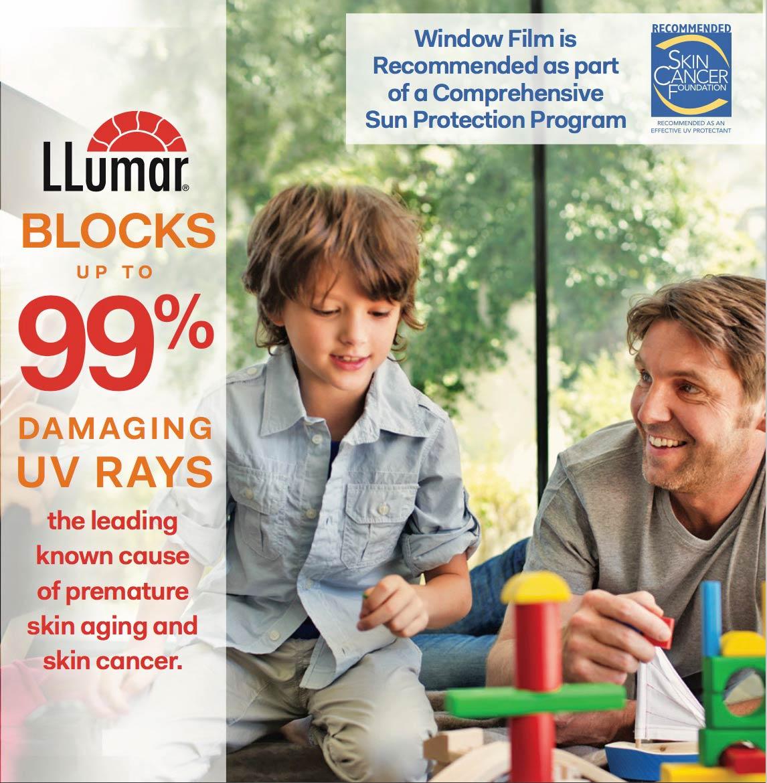 llumar blocks harmful light