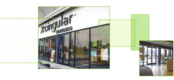 cingular window film